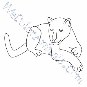 Black Panther Face Coloring Page - Free Panther Coloring Pages ... | 300x300